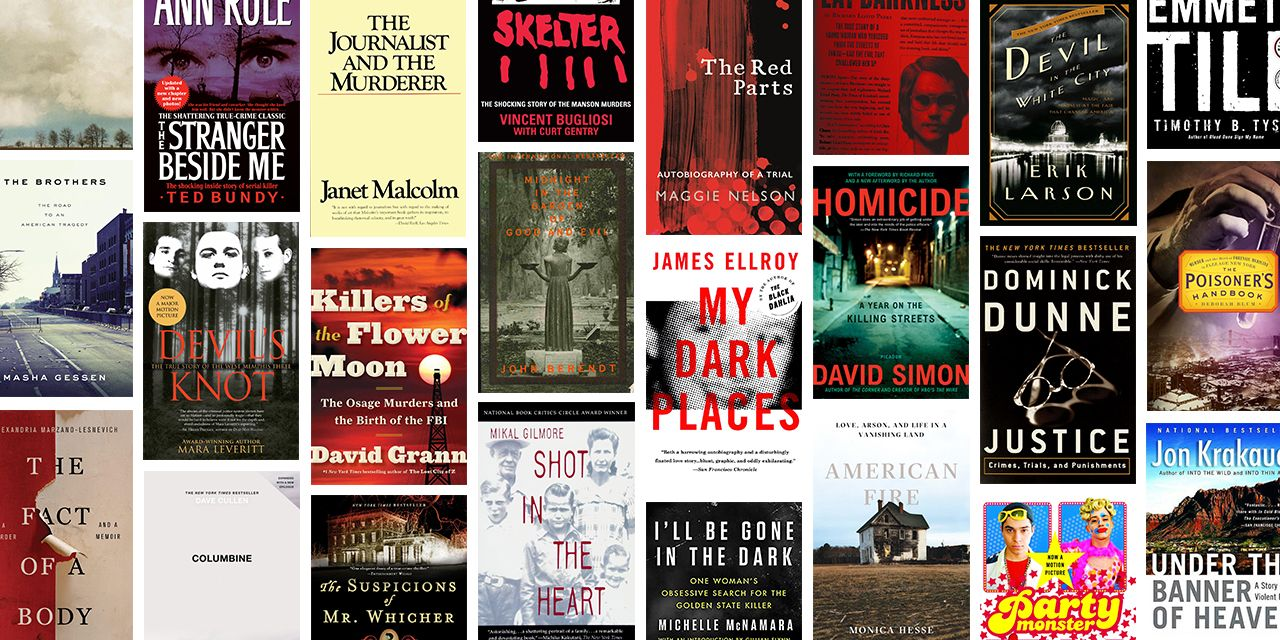25 Best True Crime Books Of All Time Top Nonfiction Crime Books