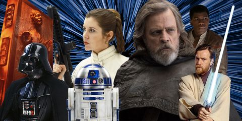 R2-d2, Fictional character, Darth vader, Obi-wan kenobi, Luke skywalker, Princess Leia, C-3po, Movie,