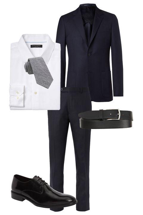 Suit, Clothing, Formal wear, Product, Outerwear, Footwear, Tuxedo, Trousers, Shoe, Sleeve,