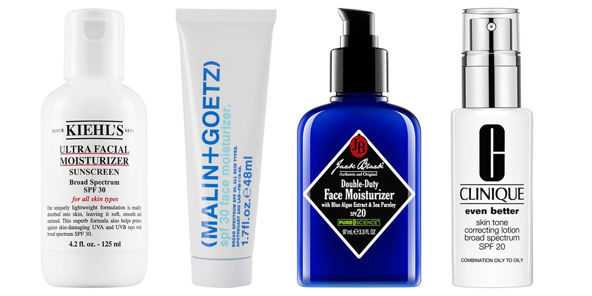 Best spf facial moisturizers for men