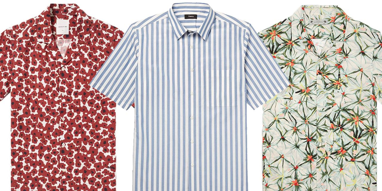 These Short-Sleeve Shirts Are the Secret to a Stylish Summer