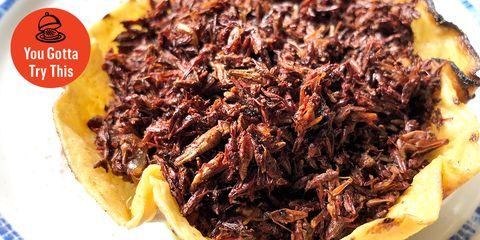 Dish, Food, Cuisine, Chilorio, Ingredient, Chapulines, Pulled pork, Barbacoa, Produce, Cochinita pibil,