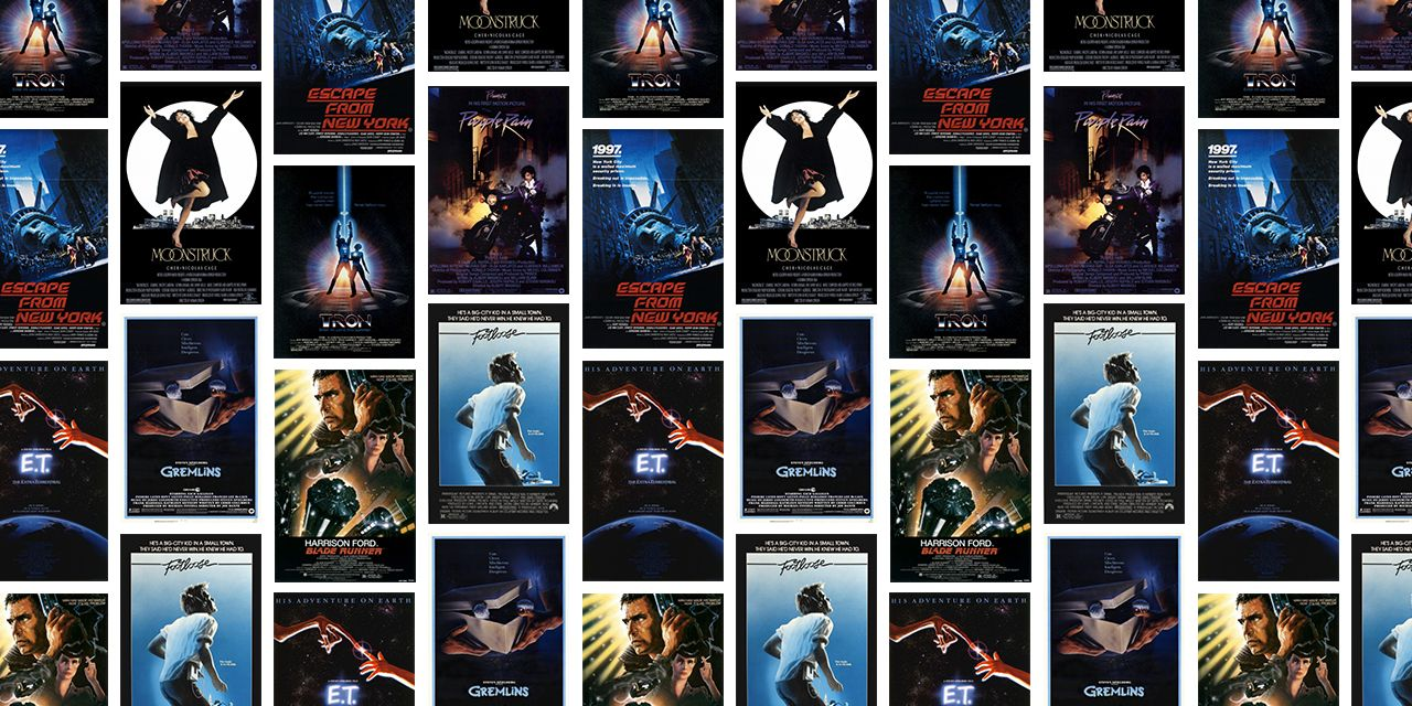 The 50 Most Iconic Movie Posters of the 1980s