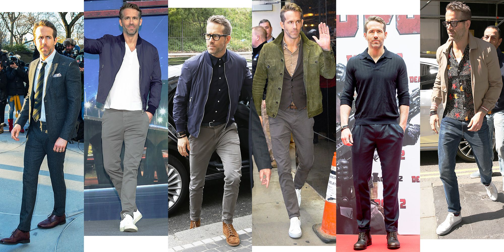 Ryan Reynolds Is Absolutely Crushing the Style on His Deadpool 2 Press Tour