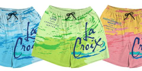 La Croix Swim Trunks Are the Fastest Way to Make Sure Everyone at the Beach Knows You're Insufferable