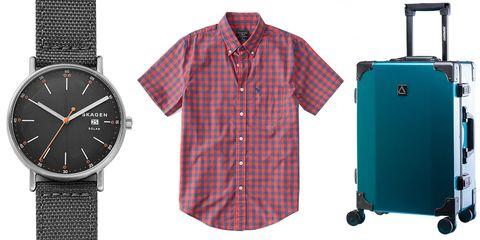 Clothing, Product, Shirt, Dress shirt, Brand, Watch, Pattern, Sleeve, Sportswear,