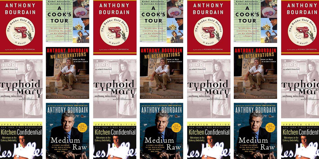 Six Essential Anthony Bourdain Books You Should Read