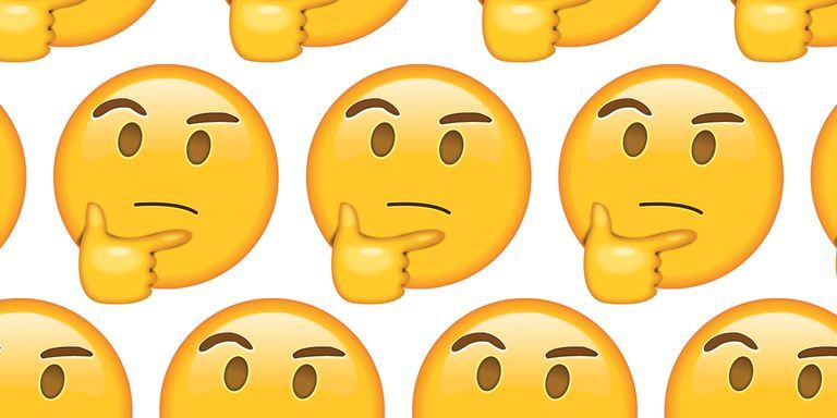es 090517 thinking face emoji 1504643347?crop=1.00xw 1.00xh;00&resize=768 * why people use the thinking face emoji