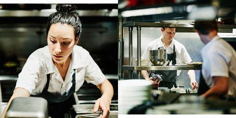 Chef, Cook, Job, White-collar worker, Cooking, Cooking show, Barista, Waiting staff, Employment, Restaurant,