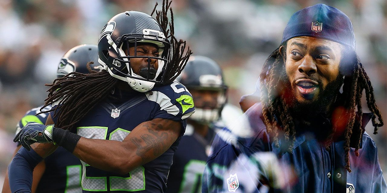 Richard Sherman on NFL Protests Trump and This Particular Media