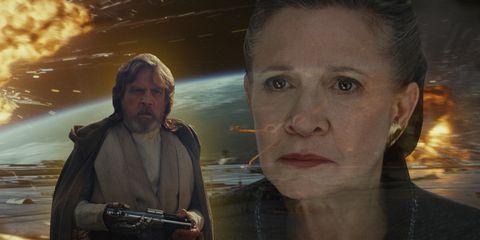 Movie, Human, Obi-wan kenobi, Fictional character, Scene, Princess Leia, Screenshot,