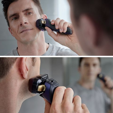 afeitadora premium panasonic