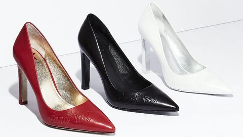 Footwear, High heels, Basic pump, Court shoe, Shoe, Leg, Leather,