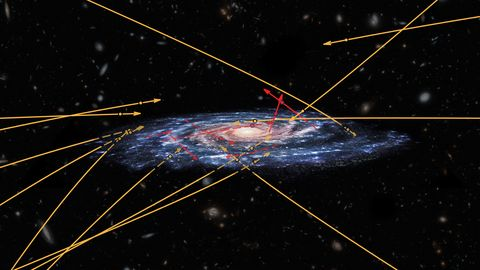 scientists find more than a dozen stars visiting us from another galaxy