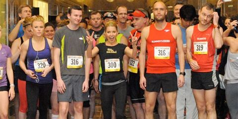 Start of 2013 Empire State Building Run-up