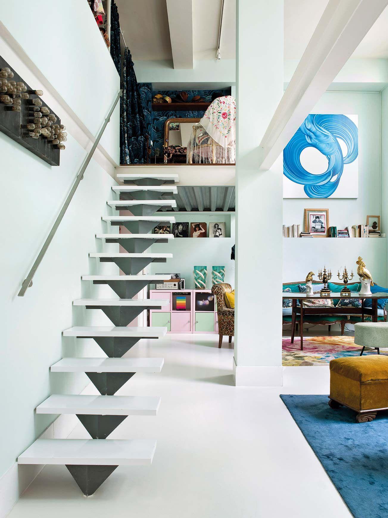 Lo mejores ejemplos de escaleras decorativas