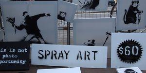 Los 7 escándalos más sonados de Banksy