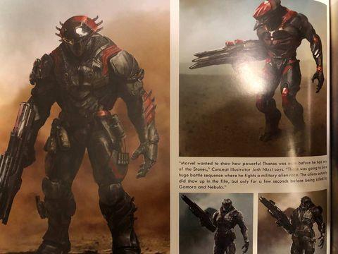 Vengadores Endgame Concept Art Thanos Ejercito