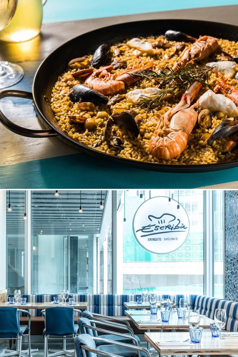 Food, Dish, Cuisine, Seafood, Paella, Recipe, Meal, Ingredient, Rice, Spanish cuisine,