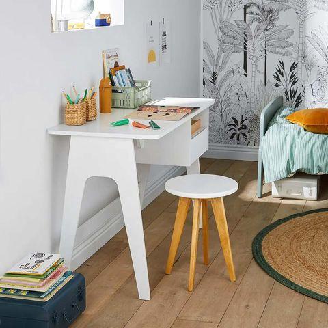 escritorio de estilo retro vintage adil