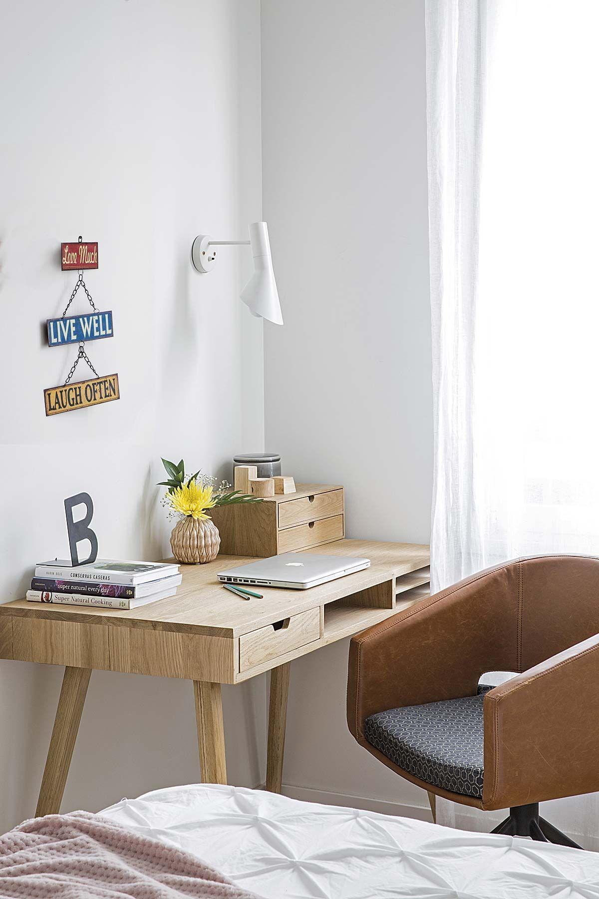 Escritorios y zonas de trabajo en casa