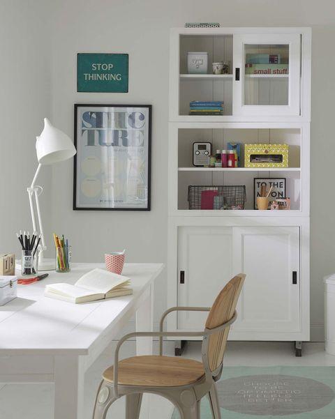 escritorios infantiles y juveniles mesa blanca