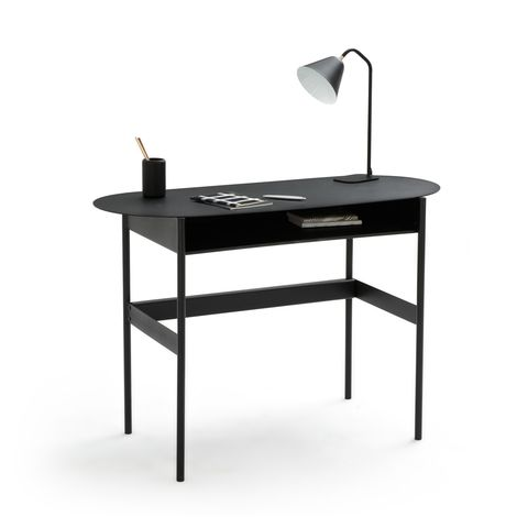escritorio consola de metal
