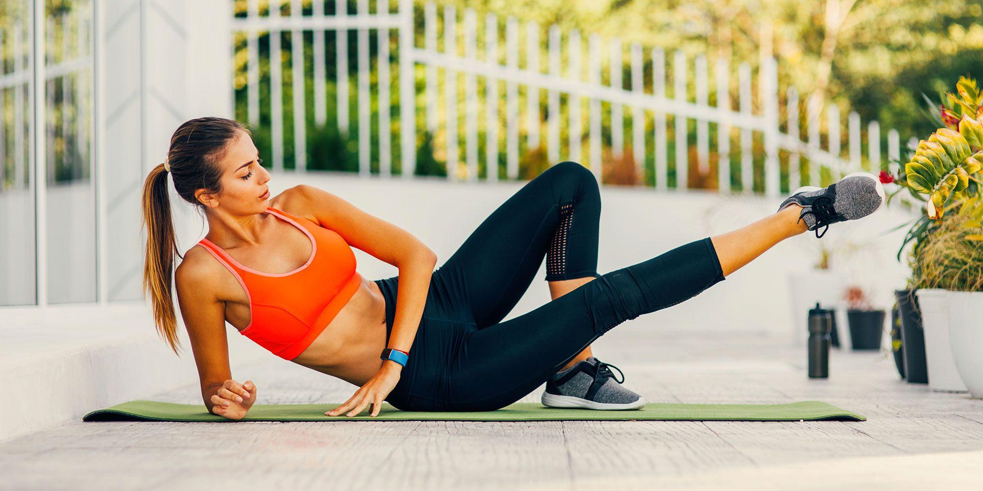 esercizi per perdere peso sui fianchi cosce e sedere