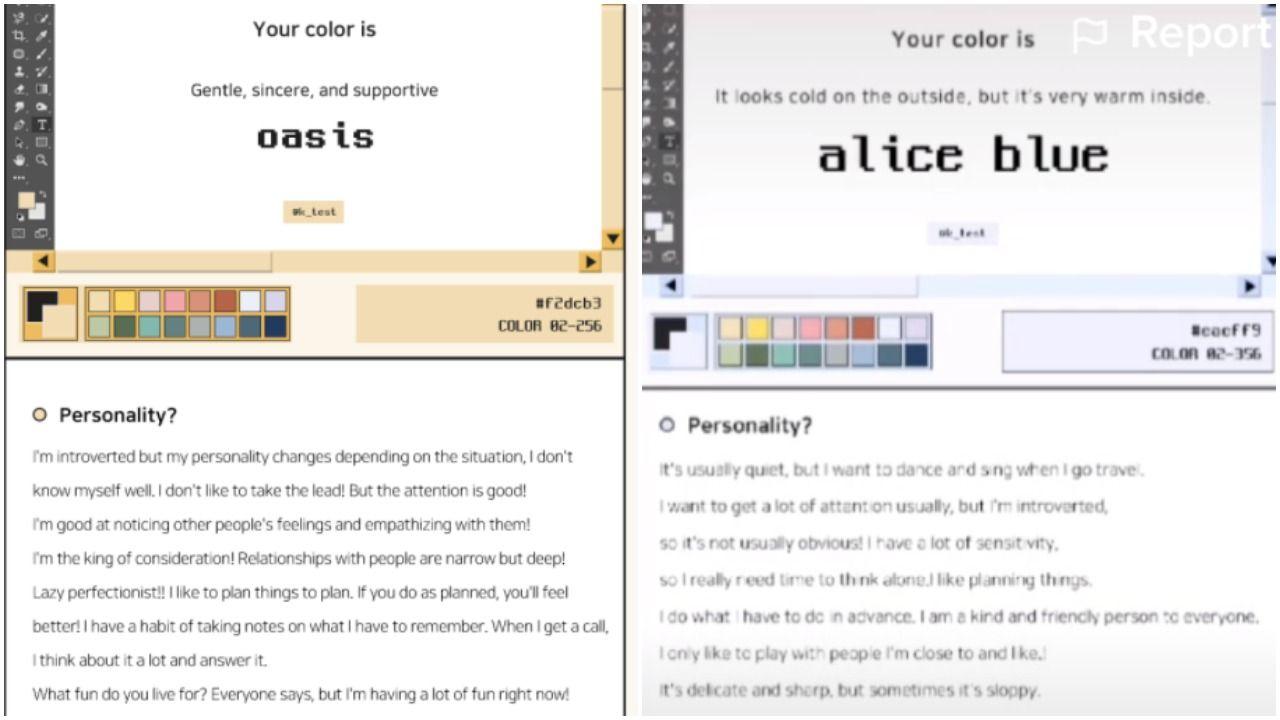 Online true test colors 5 Tests