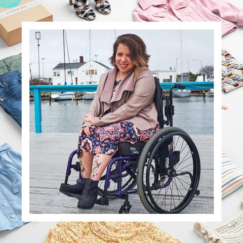 Product, Wheelchair, Street fashion, Fashion, Outerwear, Leg, Sitting, Vehicle, Leisure, Fashion accessory,