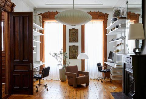 espacio de trabajo megan grehl brooklyn nueva york asiatico neoyorkino parisino
