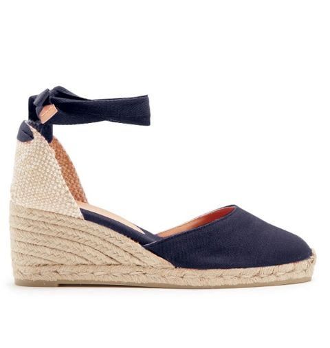 Footwear, Shoe, Sandal, Espadrille, Beige, Wedge, Slingback,