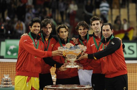 Sports, Championship, Ball game, Player, Racquet sport, Tournament, Competition event, Team sport, Trophy, Team,