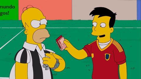España Simpson mundial rusia prediccion