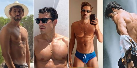 españoles desnudos