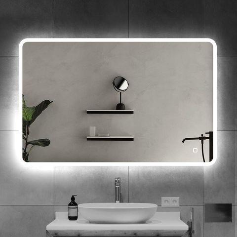 Espejo con iluminación LED