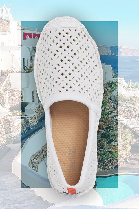 Footwear, White, Shoe, Beige, Espadrille,