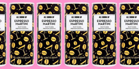 You can now get pre-mixed espresso martinis in a can