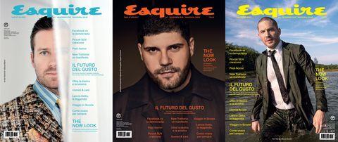 Facial hair, Magazine, Beard, Font, Advertising, Moustache, White-collar worker, Movie, Publication,