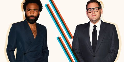 Who Is The Most Stylish Man Of 2018? Round Eight: Jonah Hill vs. Donald Glover