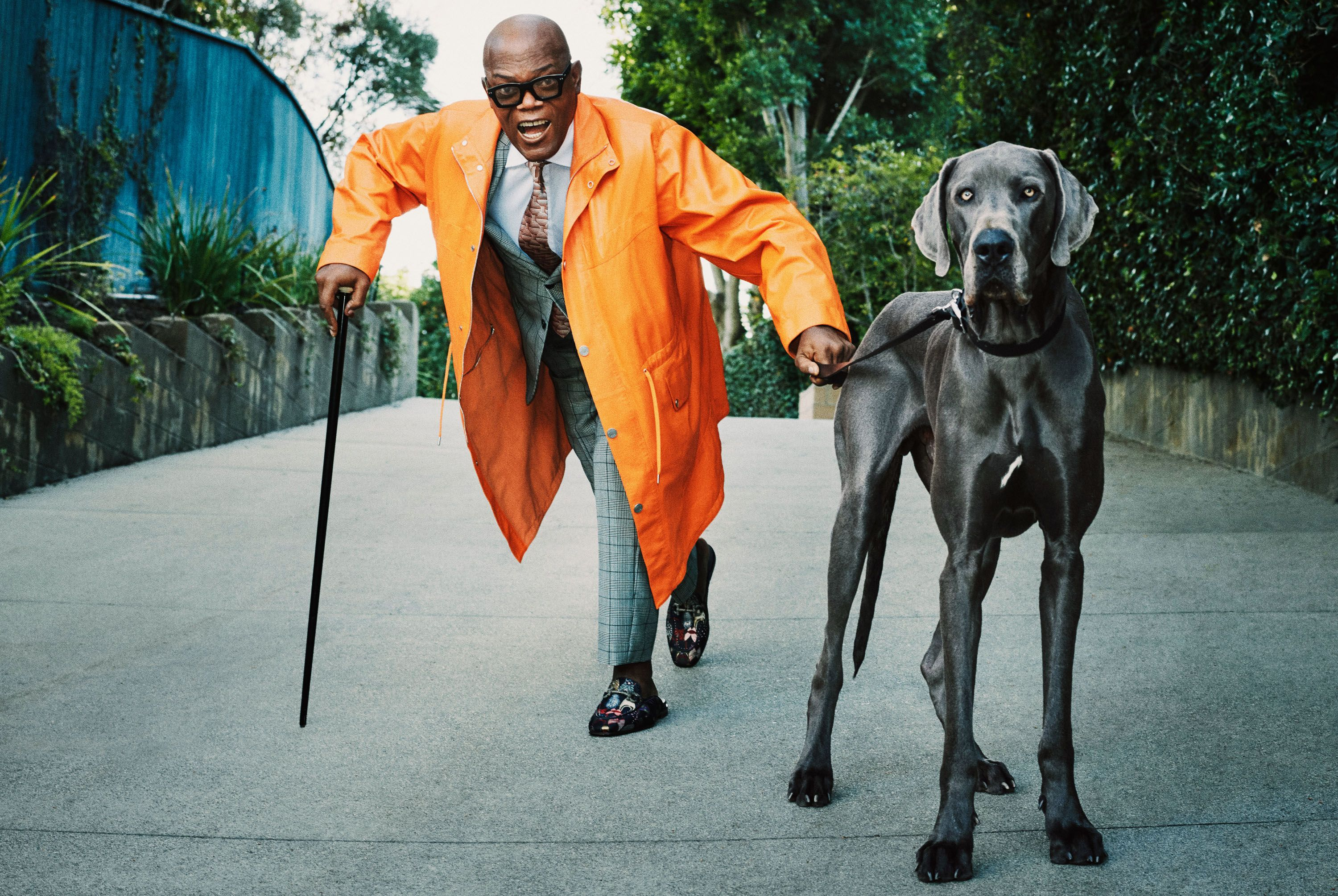 Samuel L. Jackson Operates Like He Owns the Place. (He Does.)