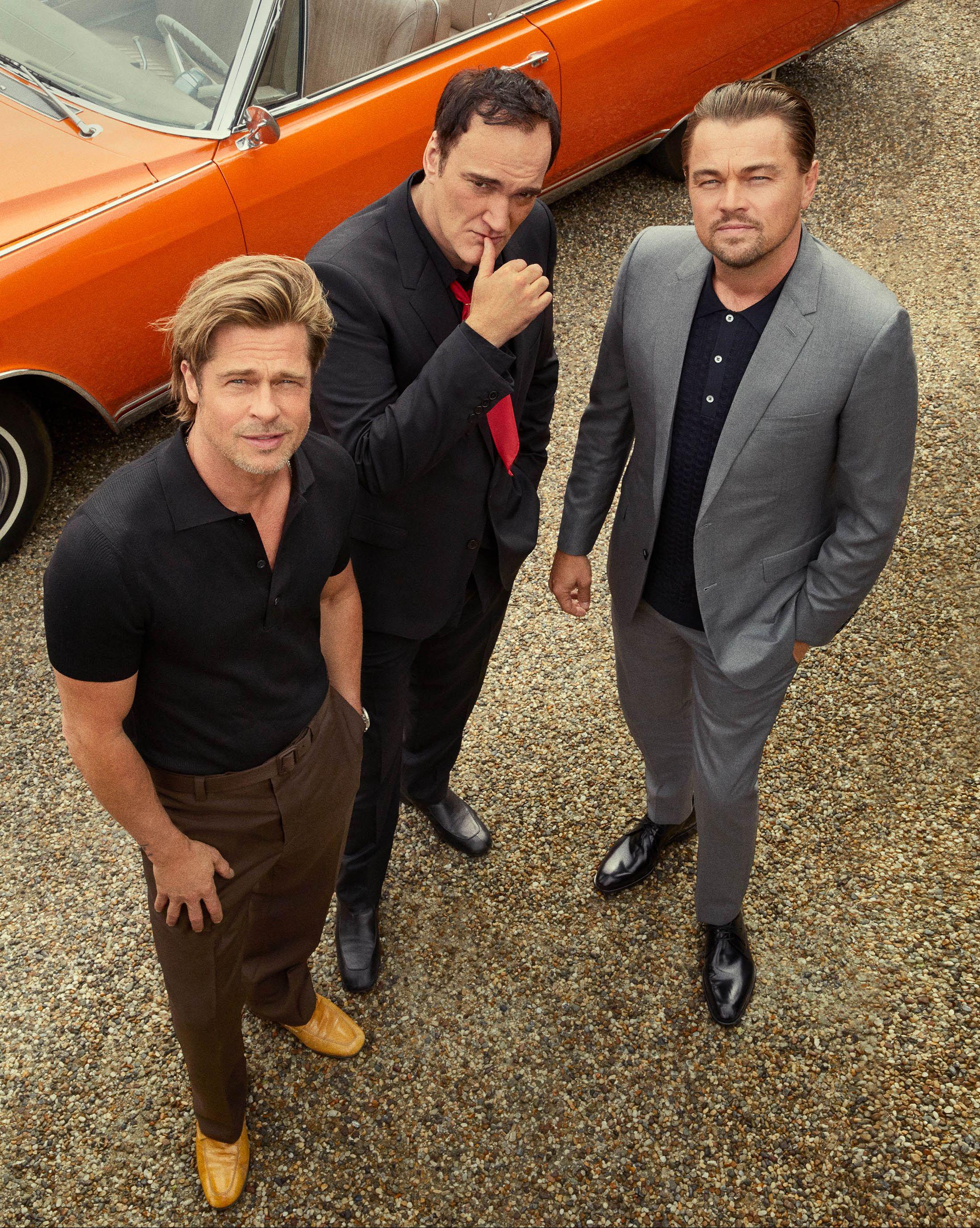 Quentin Tarantino, Brad Pitt, ...