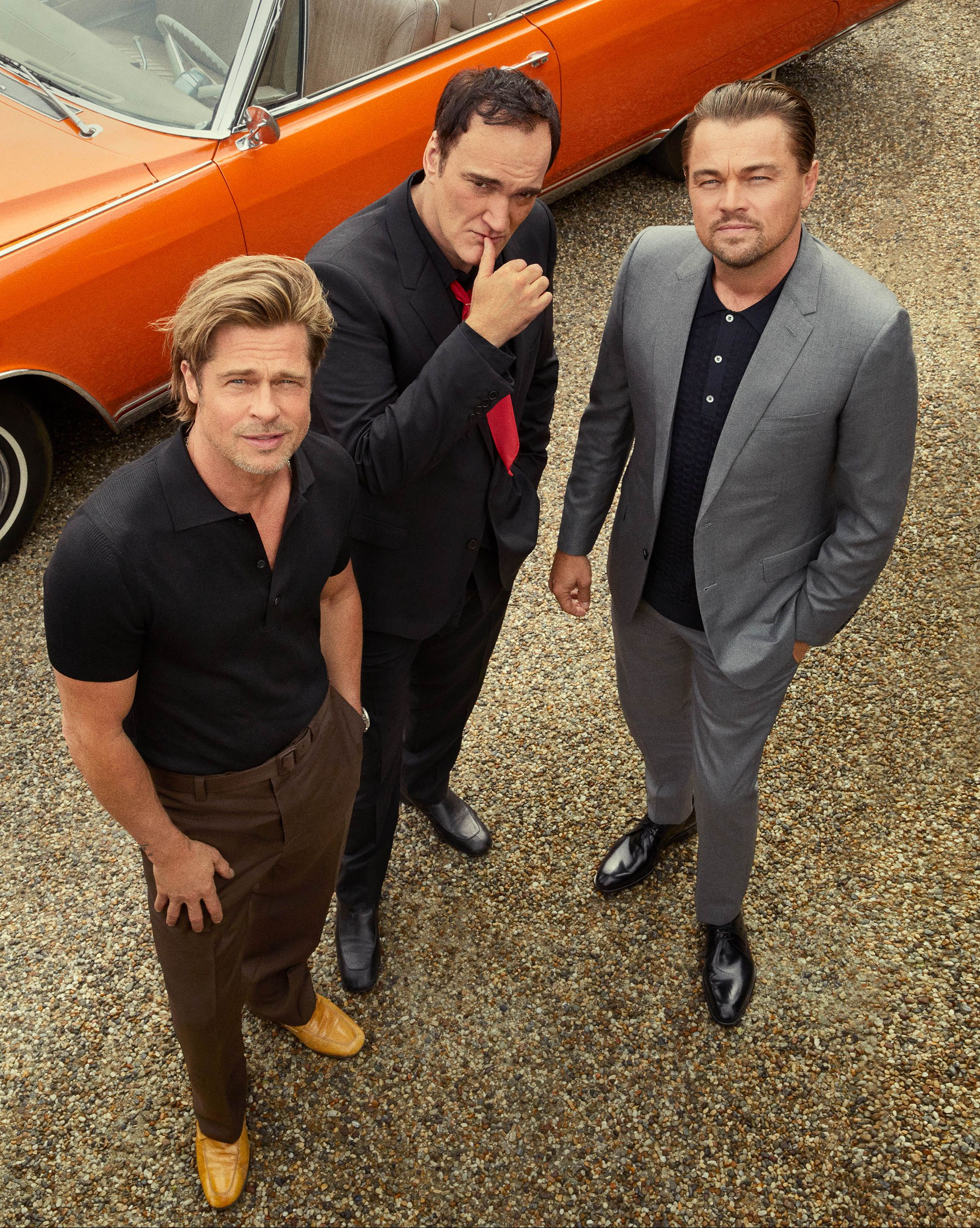 Quentin Tarantino, Brad Pitt, and Leonardo DiCaprio Take You Inside 'Once Upon a Time...In Hollywood'