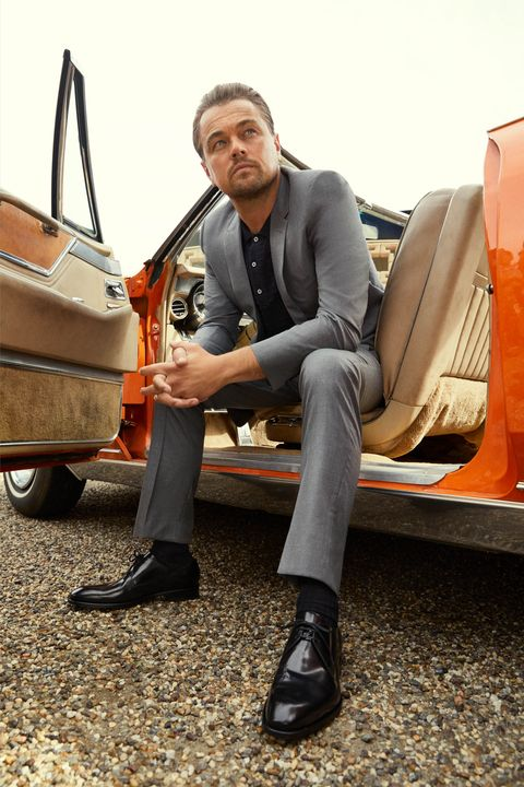 Footwear, Vehicle, Shoe, Suit, Car, Outerwear, Sitting, Classic, Leather, Leisure,