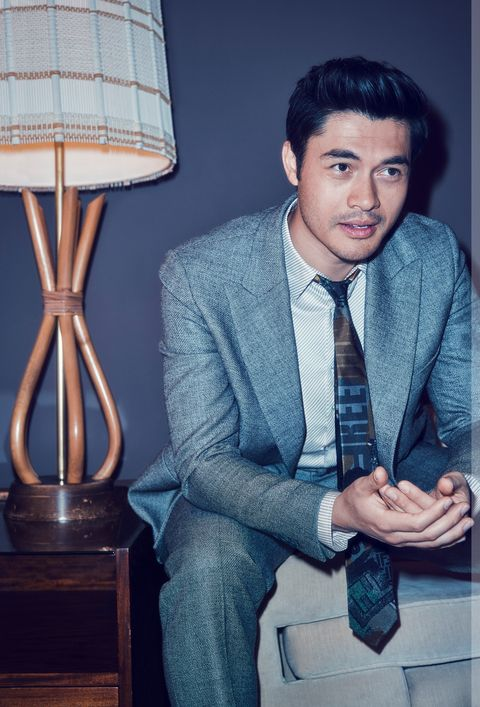 Suit, Sitting, White-collar worker, Formal wear, Cool, Design, Photography, Tie, Dress shirt, Outerwear,