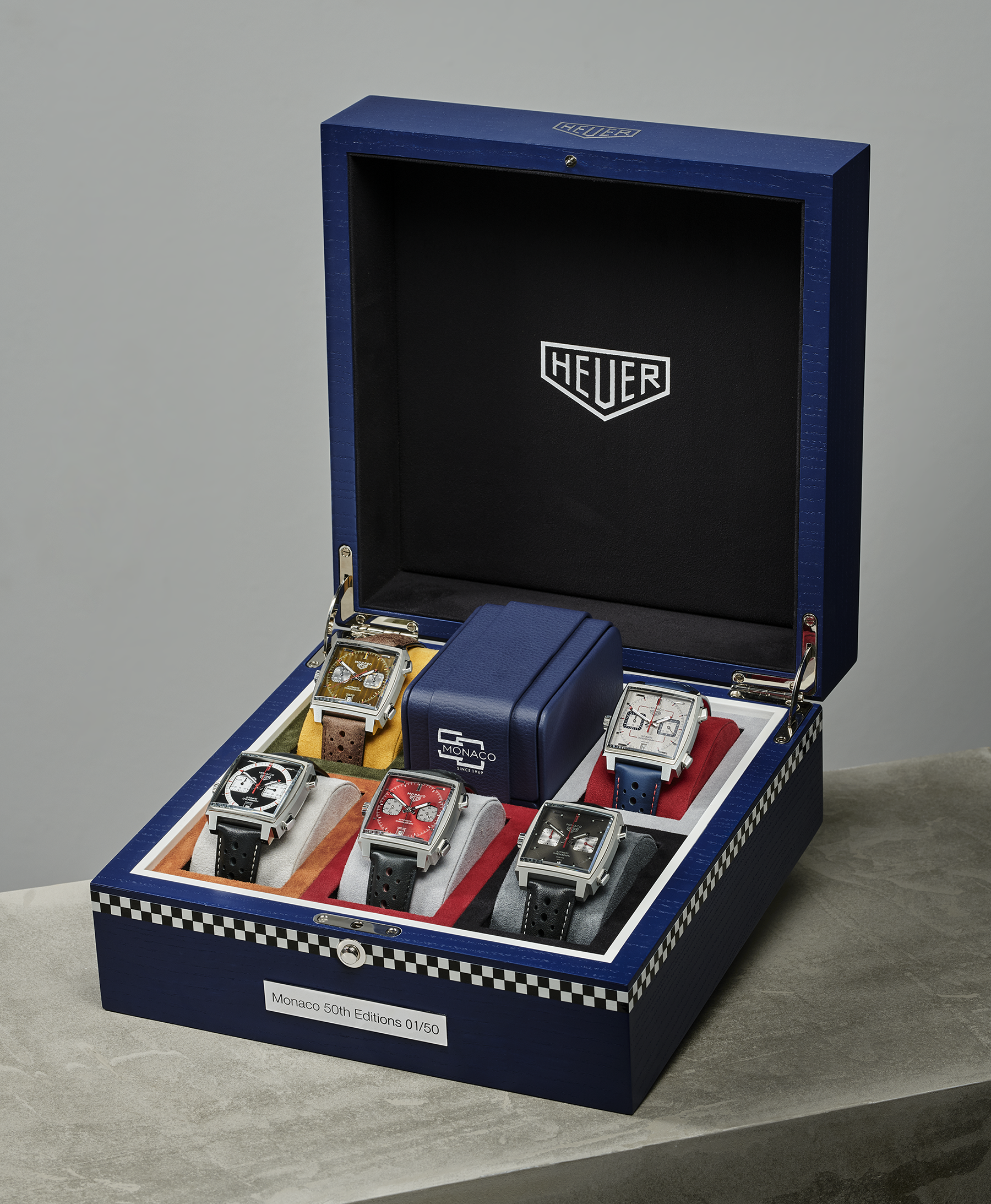 TAG Heuer Celebrates 50 Years Of The Monaco With Five New Editions