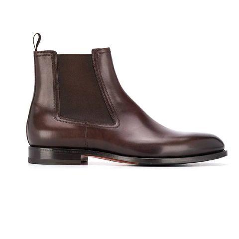 santoni laarzen met elastisch zijvlak