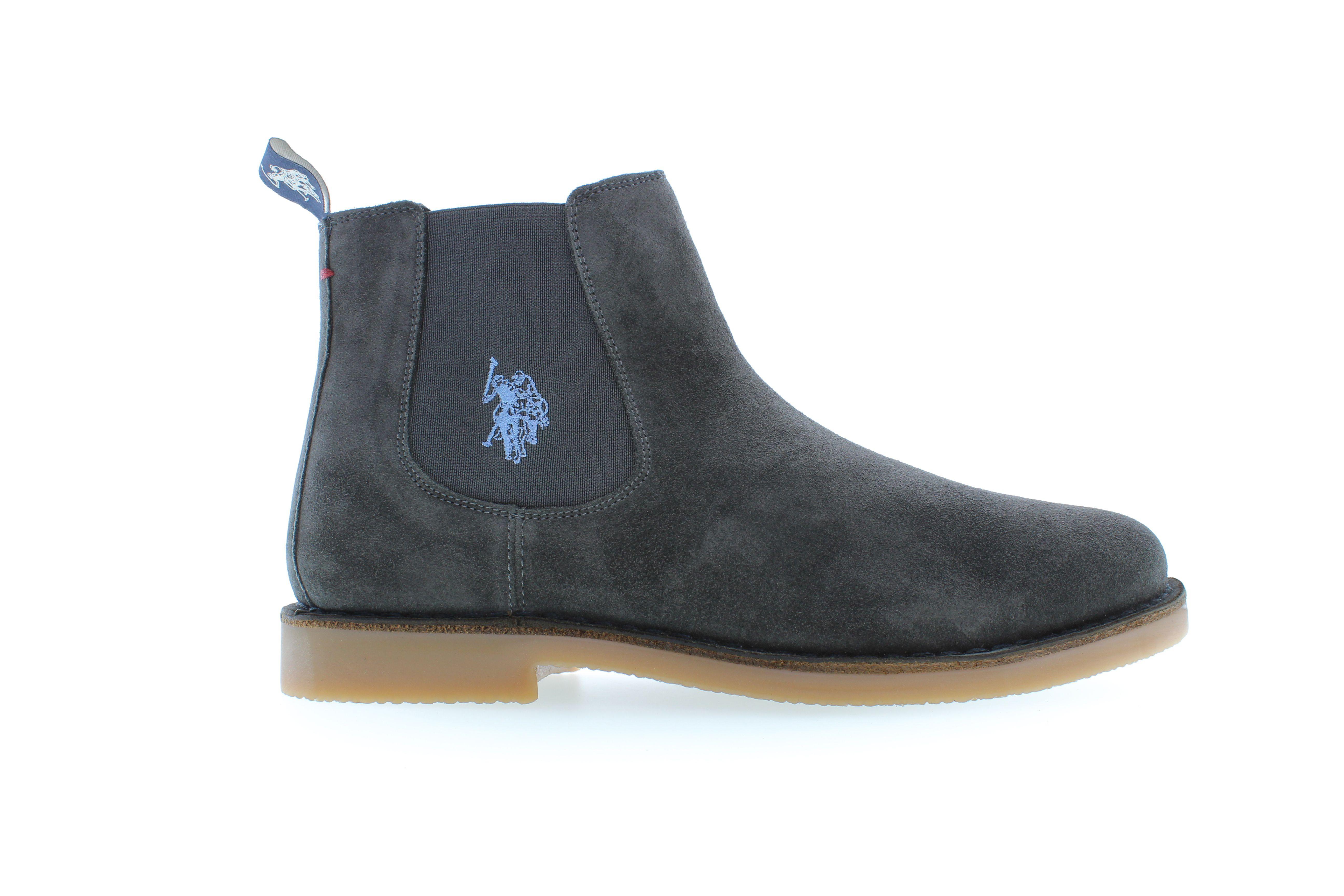 Enea | Stivaletti Chelsea Boots Scamosciati Blu | Fratelli Rossi