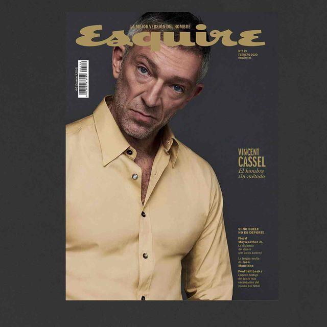 Esquire febrero 2020 Vincent Cassel