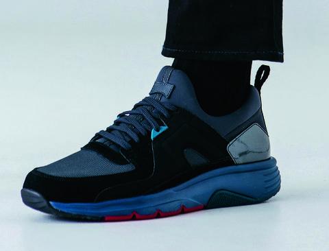 Shoe, Footwear, Blue, Black, White, Electric blue, Cobalt blue, Outdoor shoe, Sportswear, Sneakers,